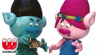 TROLLS Stop Motion For Kids   Princess Poppy Toy Fun   Trolls Full Movie Stop Motion 🎨 Crafty Kids
