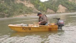 getlinkyoutube.com-лодка из фанеры / homemade jon boats