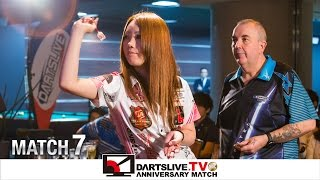 getlinkyoutube.com-【Phil Taylor VS Sayaka Sasaki】 DARTSLIVE.TV 10th ANNIVERSARY MATCH 7