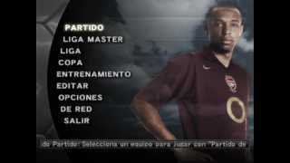 getlinkyoutube.com-Pro Evolution Soccer 5 - Main Menu (Spiral 2005) Music
