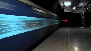 getlinkyoutube.com-High Speed Bihar Sampark Kranti Express Blazes Khurja At MPS