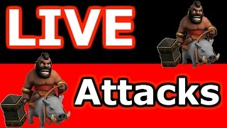 getlinkyoutube.com-Clash Of Clans - Live Attacks In A Tough War - Episode #2