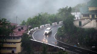 मसूरी में बारिश से हुआ मौसम खुशमिजाज