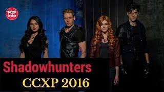 CCXP 2016: protagonistas de Shadowhunters