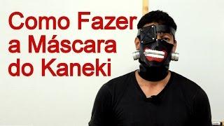 getlinkyoutube.com-Como Fazer a Máscara do Kaneki para Cosplay - Dicas de Cosmaker