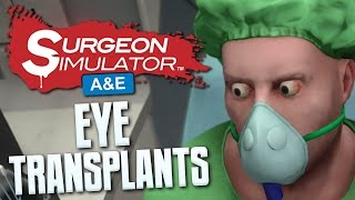 getlinkyoutube.com-EYE TRANSPLANTS - Surgeon Simulator Anniversary Edition - PS4 Gameplay