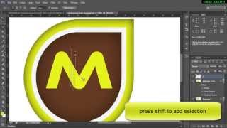 getlinkyoutube.com-Professional Logo Design Photoshop | Logo Tutorial Photoshop |Cs6|Cs5|CC