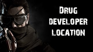 getlinkyoutube.com-Metal Gear Solid 5 The Phantom Pain - Drug Developer Location