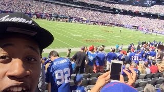 getlinkyoutube.com-MAMA WE MADE IT ! I Took My Brother To A Giants Game, It Was LIT !!