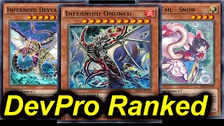 getlinkyoutube.com-60 CARD INFERNOIDS - DEVPRO RANKED SERIES - The Road to Rank 1 [Yugioh]