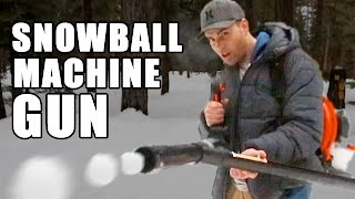 getlinkyoutube.com-Snowball Machine Gun- How to make