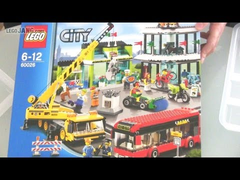 LEGO City Town Square 60026 SPEED BUILD!