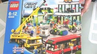 getlinkyoutube.com-LEGO City Town Square 60026 SPEED BUILD!