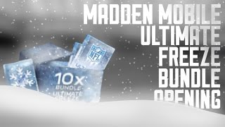 getlinkyoutube.com-MADDEN MOBILE ULTIMATE FREEZE BUNDLE OPENING