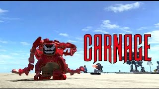 getlinkyoutube.com-LEGO Marvel Superheroes - Carnage Location and Gameplay