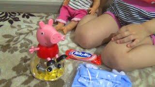 getlinkyoutube.com-Новые покупочки! Свинка Пеппа и одежда для куклы New purchases! Peppa pig and clothes for dolls