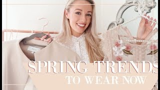 8 SPRING TRENDS YOU CAN WEAR NOW & How To Style // Fashion Mumblr