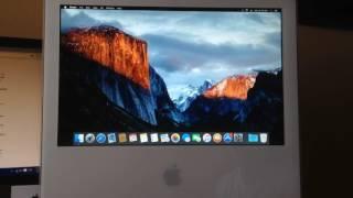getlinkyoutube.com-Mac OS X 10.11 El Capitan en iMac Late 2006 [2016] - Unsupported Mac