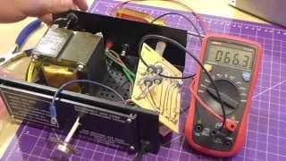 "getlinkyoutube.com-""Power Max"" bench power supply Repair and Retrofit"