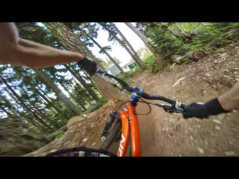Whistler Bike Park Raw GoPro Freeride