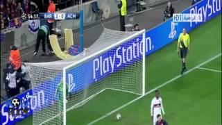 getlinkyoutube.com-اهداف برشلونة ميلان 4-0 تعليق عصام الشوالي