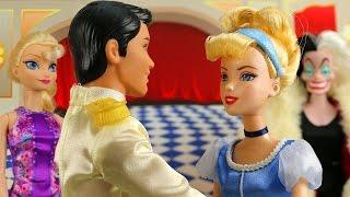 getlinkyoutube.com-Cenicienta Mini Película 2015 con Anna y Elsa. Cenicienta con el Príncipe. Parte 3. En Español.