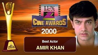 Aamir Khan | Best Actor Of The Year 2000 For Movie Sarfarosh | Zee Cine Awards 2000
