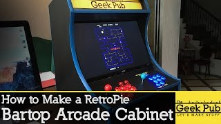 getlinkyoutube.com-Build a RetroPie Bartop Arcade Cabinet with a Raspberry Pi