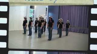 getlinkyoutube.com-TAG ON - line dance - NEW SPIRIT OF COUNTRY DANCE