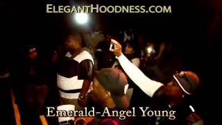 EMERALD YOUNG PERFORMS LIVE ELEGANT HOODNESS NYC