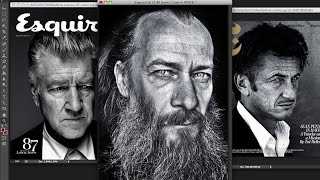 getlinkyoutube.com-Ретушь мужского портрета в стиле журнала Эсквайр
