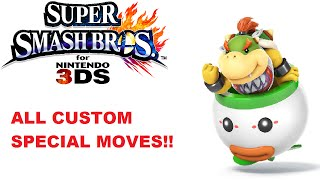 getlinkyoutube.com-Smash 4 3DS - ALL of Bowser Jr 's special moves - Nitrosonic0