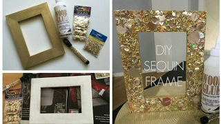 How To Make a Cardboard Photo Frame - Home DIY | Room Decor 2017 SUPER EASY AND CHEAP TO MAKE !!!!