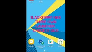 Blackberry Launcher review and tutorial