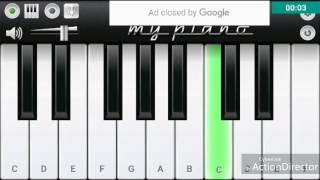 Hasy Yaw Khabara Da Meena Zorawara Da (Irfan Kamal) pashto song Piano