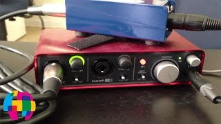 getlinkyoutube.com-Best Way to Connect XLR Mic to Computer
