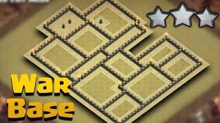 getlinkyoutube.com-TH9 (Town Hall 9) War Base Anti 3 Star + Replays | Anti Valkyries/Anti Bowlers | Clash Of Clans