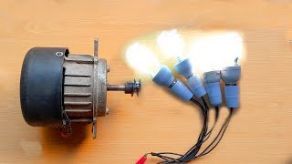 getlinkyoutube.com-How To Make Free Energy Generator 220V From Washing Machine Motor. DIY Free Energy Generator.
