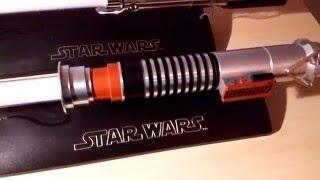 getlinkyoutube.com-Sabre Laser - Luke Skywalker Force Fx 2005 - Master Replicas
