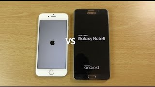 getlinkyoutube.com-iPhone 6s VS Samsung Galaxy Note 5 - Speed & Camera Test!