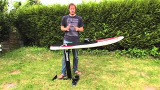 getlinkyoutube.com-SROKA FOIL : how to learn kitefoil - kiteboard hydrofoil