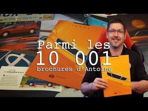 La Daewoo Lanos 1999 - Les 10 001 brochures d'Antoine - E26