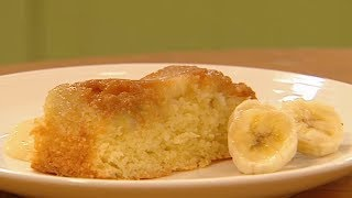 How To Make Banana & Toffee Pudding 🍌 | I Can Cook Season 2 | Kids Craft Channel