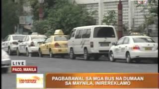 getlinkyoutube.com-Manila bus ban to stay: Isko