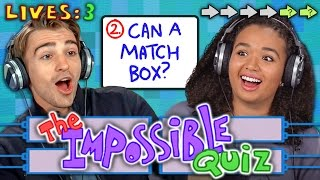 getlinkyoutube.com-THE IMPOSSIBLE QUIZ (REACT: Gaming)