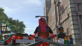 getlinkyoutube.com-LEGO Marvel Super Heroes (PS4) - Deadpool Free Roam Gameplay