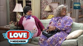 getlinkyoutube.com-Madea and Hattie Outsmart Linda | Tyler Perry's Love Thy Neighbor | Oprah Winfrey Network