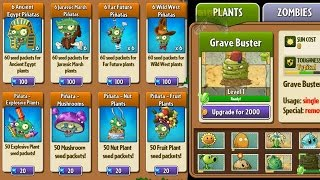 getlinkyoutube.com-Plants vs Zombies 2 - All Pinatas for Plants Level Up System