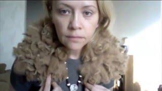 getlinkyoutube.com-how to make the felt collar of alpaca