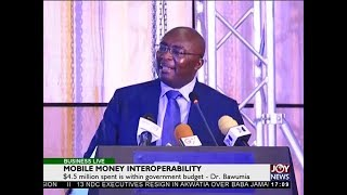 Mobile Money Interoperability - Business Live on JoyNews (16-5-18)